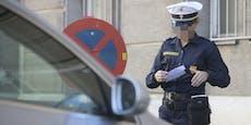 Parksheriff von Auto am Schutzweg angefahren