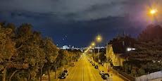 Wieder sichtet Wiener seltsame Lichter über der Stadt