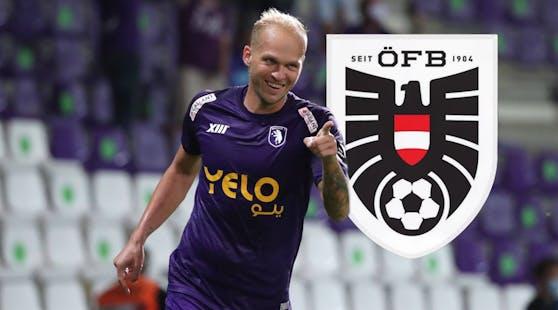 Raphael Holzhauser debütiert im ÖFB-Team.