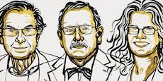 """Physik-Nobelpreis geht an """"Schwarze Löcher""""-Erforscher"""