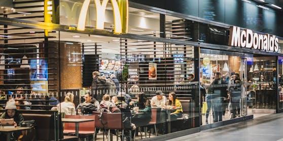 Ein McDonalds-Restaurant.
