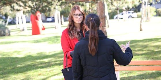 "Verena M. im Interview mit ""Heute""-Reporterin Amra Duric"