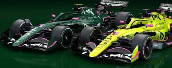 Steigt Aston Martin in einem von diesen Designs in die Formel 1 ein?