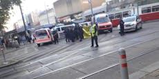 36-Jähriger fiel mit E-Scooter auf Bim-Gleise in Wien