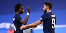 Frankreich-Gala mit Traumtor, Nullnummer für Ronaldo