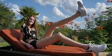 Diese 17-Jährige hat die längsten Beine der Welt