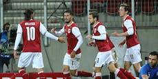 2:1! Österreichs B-Team dreht Spiel gegen Griechenland