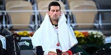 Fluchender Djokovic kämpft sich ins Paris-Halbfinale