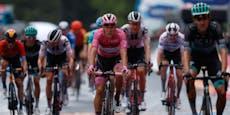 Konrad beim Giro nur von Weltmeister Ganna geschlagen