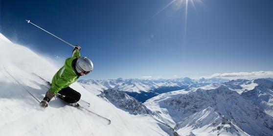 Vorfreude auf das Skifahren