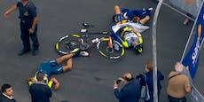 Hubschrauber verletzt Rad-Profis beim Giro schwer
