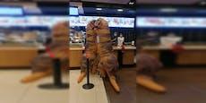 Zwei Dinosaurier in Wiener McDonald's Filiale entdeckt