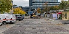 Sanierung von Südbahnhofmarkt ist nun angelaufen