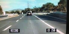 Autofahrer droht nach Raserei jetzt saftige Strafe
