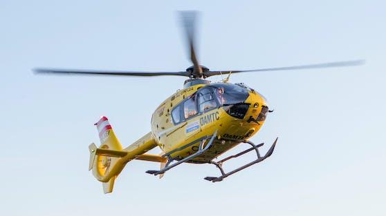 Das Kind wurde mit dem Rettungshubschrauber in die Kinderchirurgie Graz gebracht (Symbolbild).