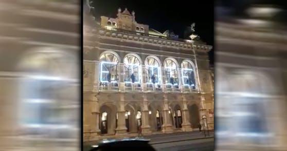 Rührende Geste der Oper