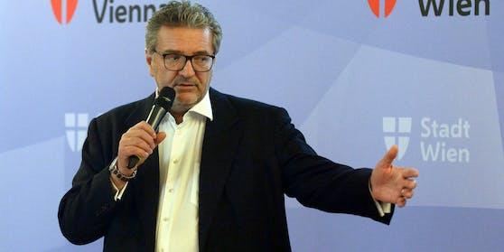 Wiens Gesundheitsstadtrat Peter Hacker (SPÖ)