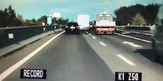 Polizei kann nicht glauben, wie schnell Raser fährt