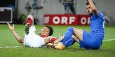 Quoten-Tiefschlag für ÖFB-Team und Deutschland