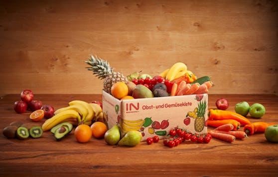 Interspar liefert ab sofort Obst- und Gemüsekisten heim