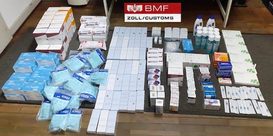 Aufgriff von 1.762 Stück Medikamenten (Antibabypillen, Abnehmpillen, Viagra, Generika) durch das Zollamt Graz