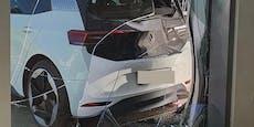 Senior schrottet VW ID.3 bei Probefahrt nach 20 Metern