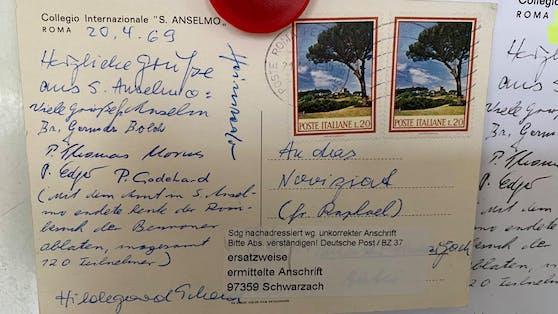 """""""Besser spät als nie, dachte sich wohl die Post bei dieser Postkarte, die uns vergangene Woche mit 51 Jahren Verspätung erreicht hat"""""""