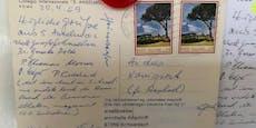 Postkarte mit 51 Jahren Verspätung zugestellt