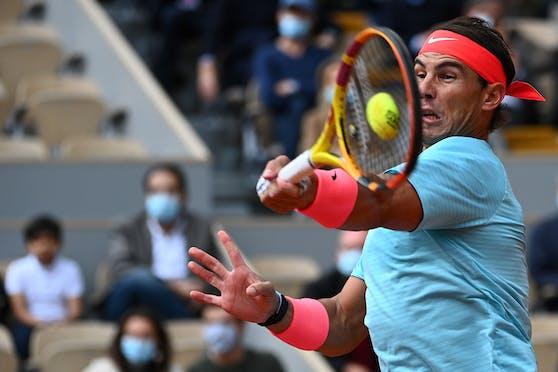 Rafael Nadal zieht ins Finale der French Open ein.