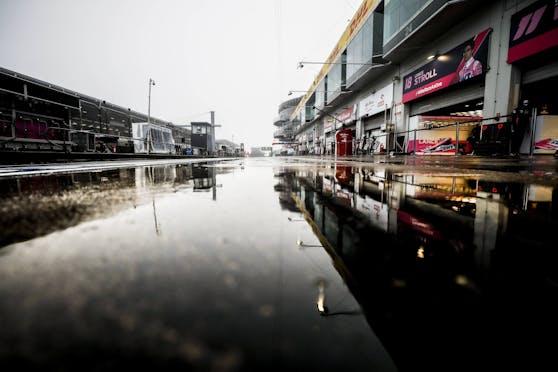Fällt das gesamte Formel-1-Wochenende auf dem Nürburgring ins Wasser?