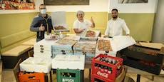 14-Meter-Pizza kommt aus Wien