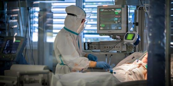 Aktuell werden in den Wiener Spitälern 181 Covid-Intensivpatienten versorgt.