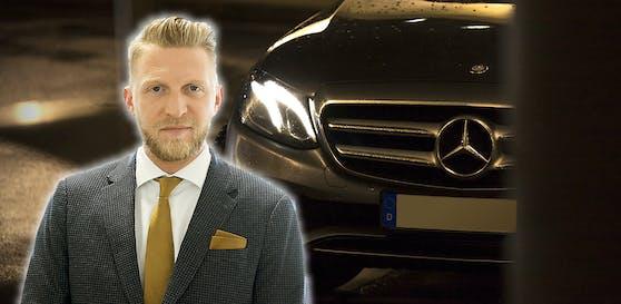 Anwalt Tenschert, schwarzer Mercedes (Symbolbild)