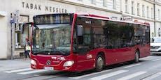 27-Jähriger Radfahrer von Autobus überrollt