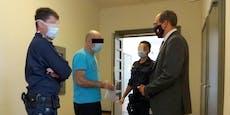 Einbrecher attackierte Malermeister: Über 3 Jahre Haft