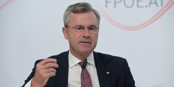 FPÖ-Chef Nobert Hofer ist sauer.