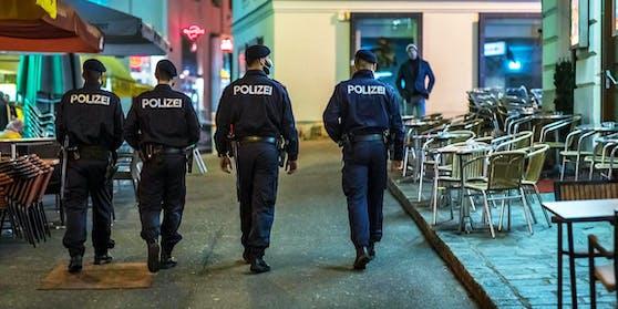 Polizeieinsatz in Wien-Neubau