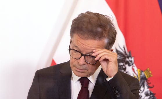Gesundheitsminister Rudolf Anschober von den Grünen.