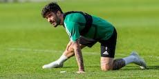 Rapid-Goalgetter Fountas bleibt Operation erspart