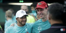 Mercedes-Boss Wolff feierte Titel mit Lauda-Kapperl
