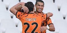 Ronaldo kehrt mit Doppelpack aus Quarantäne zurück