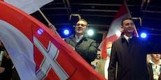 Strache-Vize Baron sorgt in 7er-BMW für Polizeieinsatz