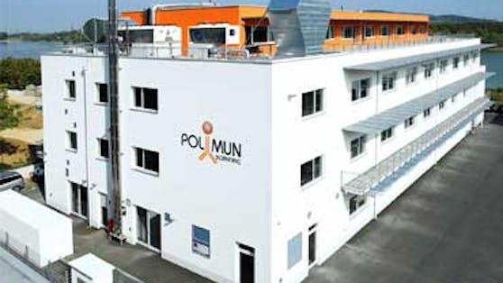 Die Biotech-Firma Polymun in Niederösterreich