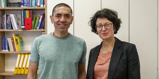 Ugur Sahin und seine Frau Özlem Türeci stehen hinter dem möglichen Corona-Impfstoff.