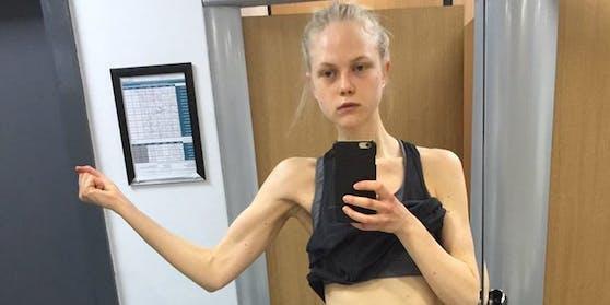 Anne-Sophie Monrad brachte nur 53 Kilo auf die Waage.