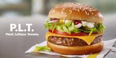 McDonald's überrascht Kunden mit Burger ohne Fleisch