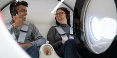 Erstmals reisen Menschen mit dem Hyperloop
