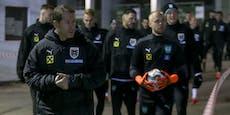 Salzburg-Duo darf doch zum Team, Ullmann vorerst nicht
