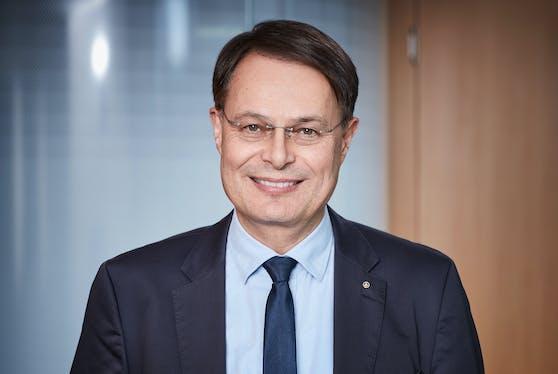 Spar-Vorstandsvorsitzender Dr. Gerhard Drexel