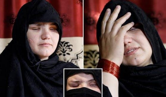 Einer Polizistin in Afghanistan wurden die Augen ausgestochen - vermutlich von Taliban.